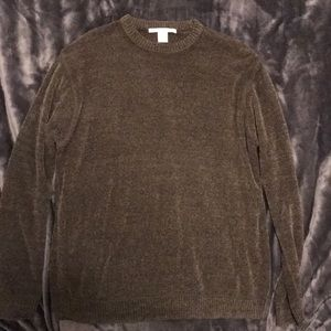 Perry Ellis Olive Sweater